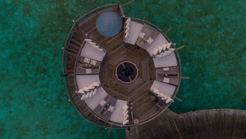 Soneva Jani Luxury Resort - Noonu Atoll, Medhufaru, Maldives - So Starstruck Deck Telescope Overhead Aerial