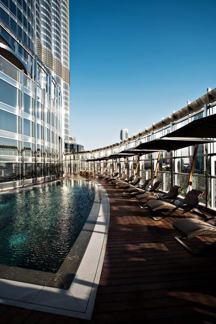 Armani Hotel Dubai - Burj Khalifa, Dubai, UAE - Armani Outdoor Pool