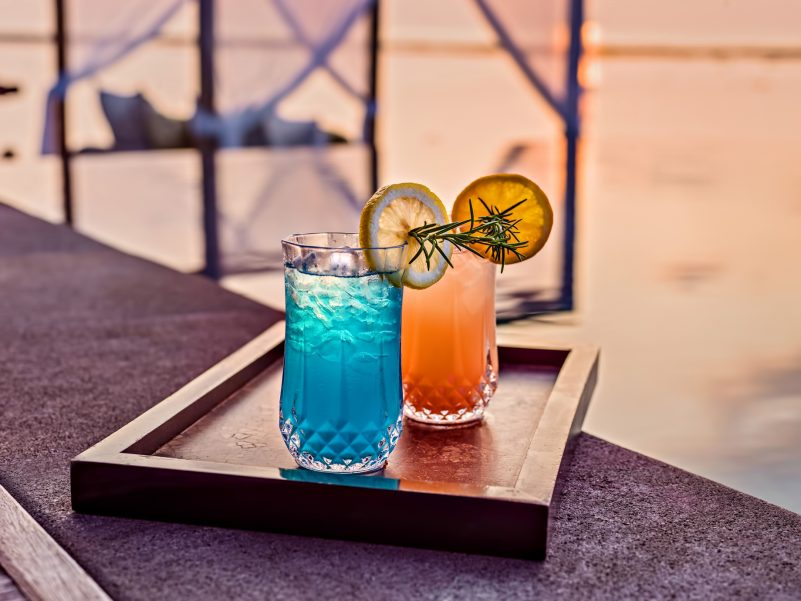 One&Only Reethi Rah Luxury Resort - North Male Atoll, Maldives - Sunset Cocktails