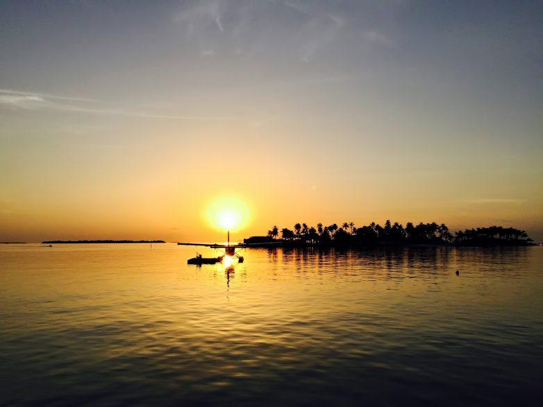 Cheval Blanc Randheli Luxury Resort - Noonu Atoll, Maldives - Seaplane Ocean Sunset