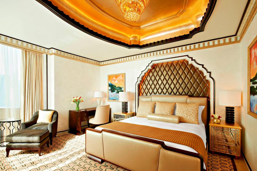The St. Regis Abu Dhabi Luxury Hotel - Abu Dhabi, United Arab Emirates - Ultra Luxury Abu Dhabi Suite Bedroom