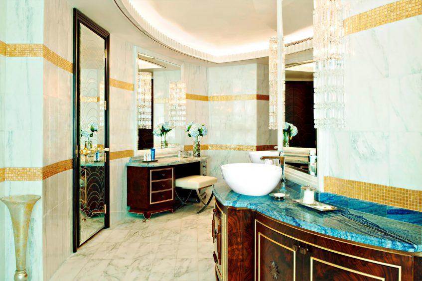 The St. Regis Abu Dhabi Luxury Hotel - Abu Dhabi, United Arab Emirates - Ultra Luxury Abu Dhabi Suite Bathroom