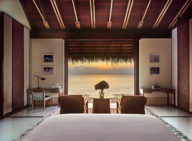 One&Only Reethi Rah Luxury Resort - North Male Atoll, Maldives - Overwater Villa Sunset View
