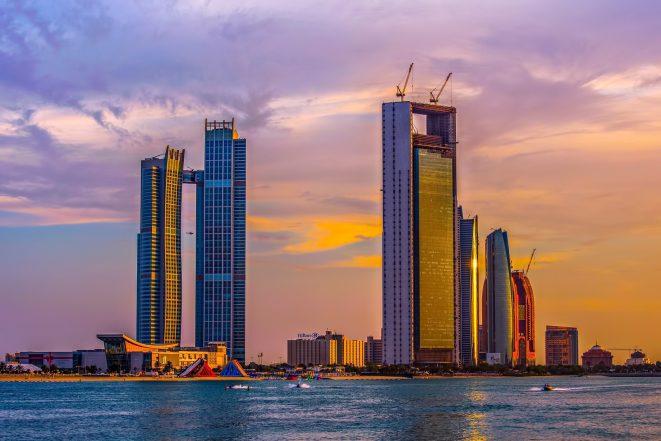 The St. Regis Abu Dhabi Luxury Hotel - Abu Dhabi, United Arab Emirates - Sunset