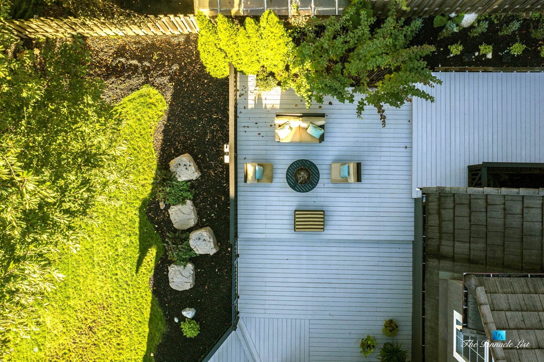 2366 Sunnyside Rd, Anmore, BC, Canada – Exterior Front Deck Overhead View