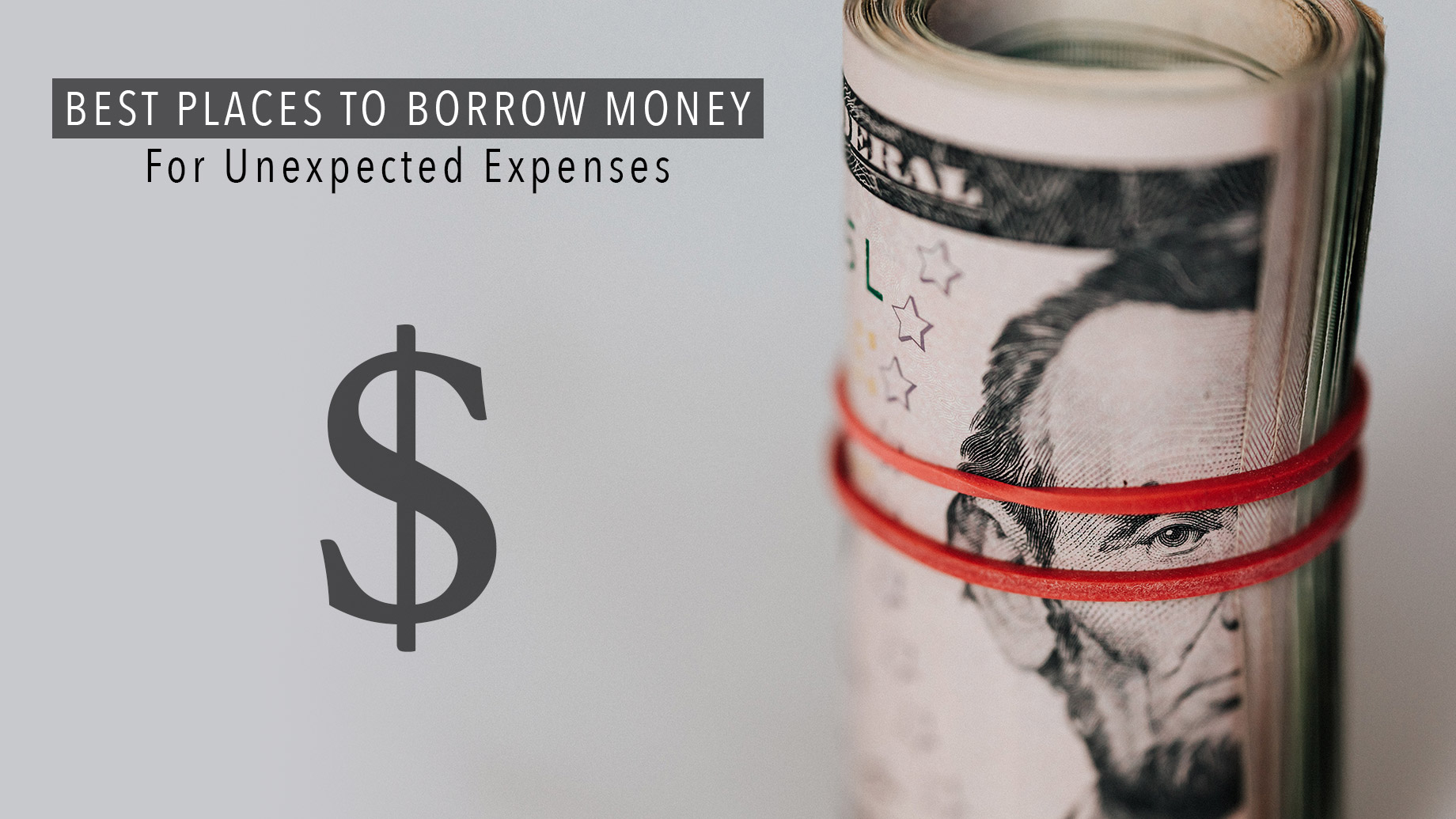 Best Places To Borrow Money For Unexpected Expenses