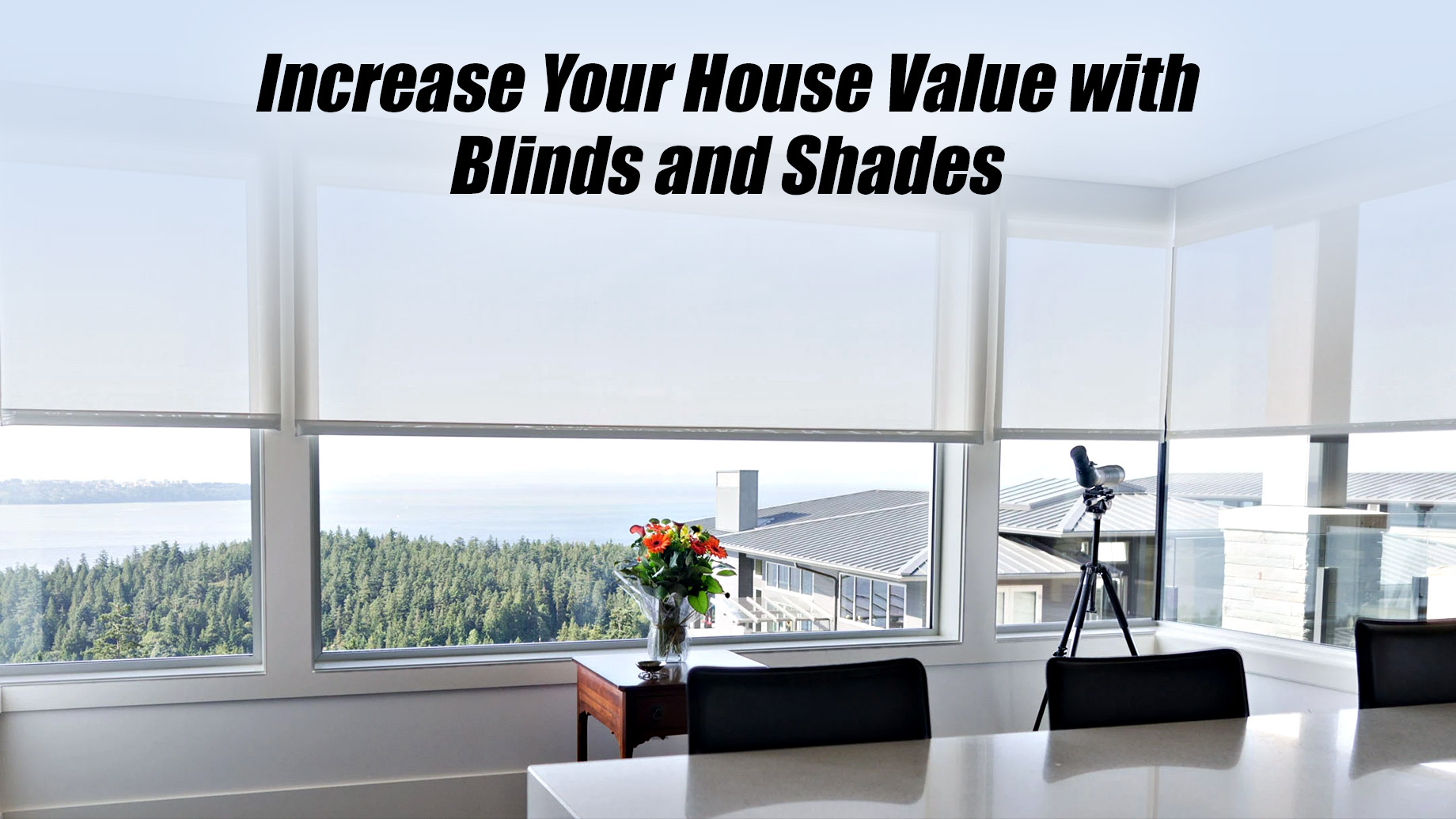 Increase Your House Value with Blinds and Shades