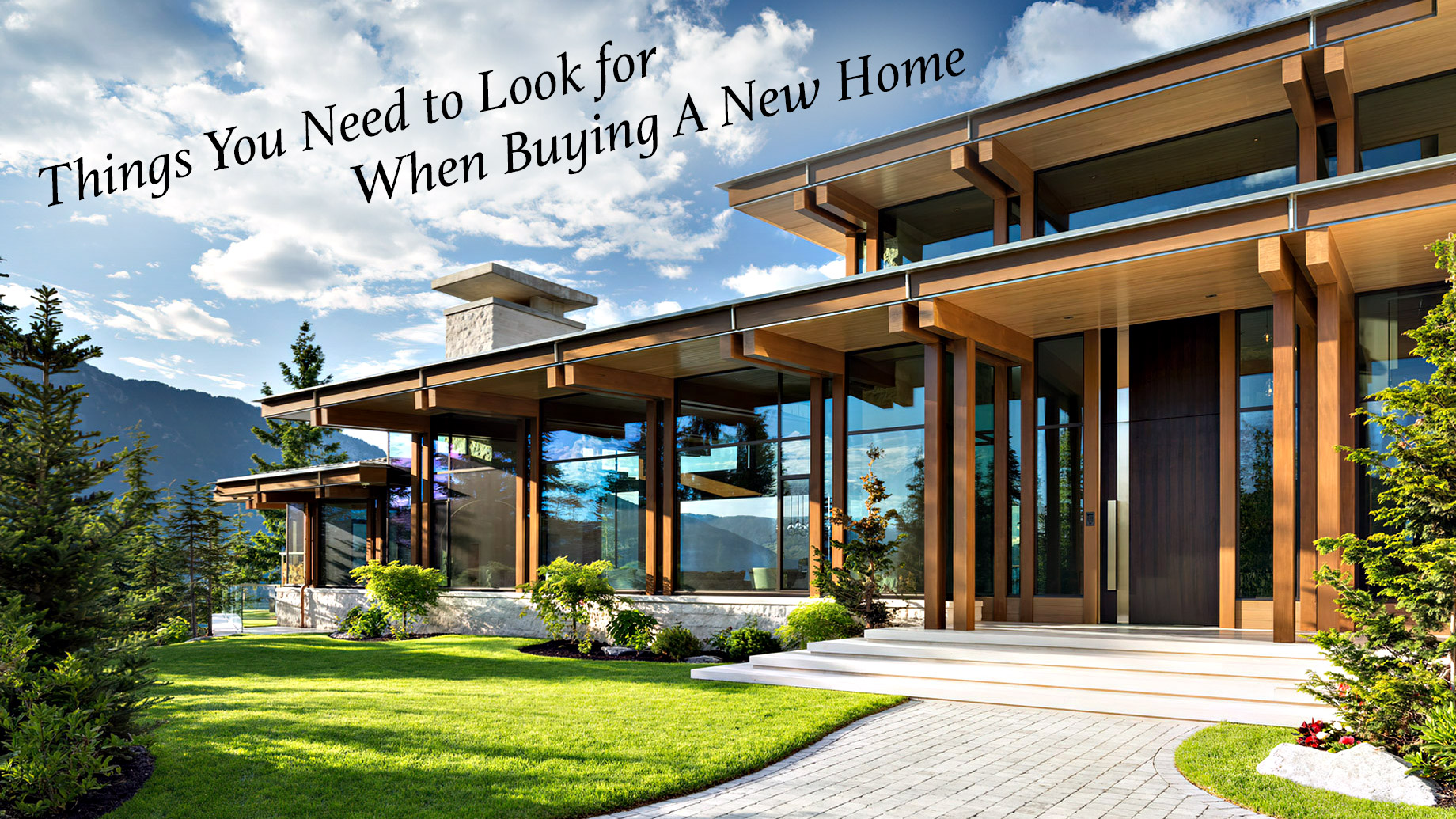 Things You Need to Look for When Buying A New Home