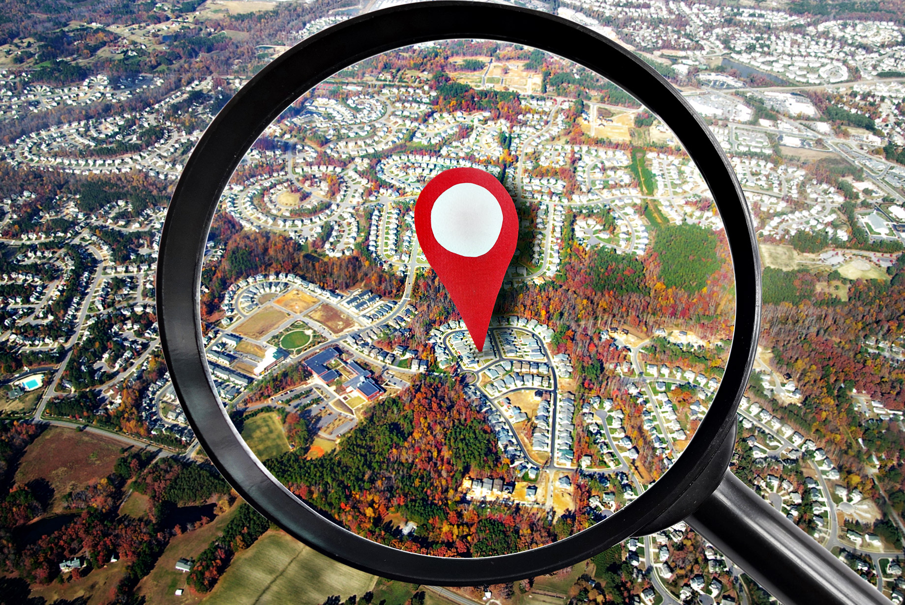 Searching for Real Estate by Location