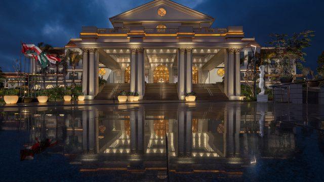 The St. Regis Almasa Luxury Hotel - Cairo, Egypt - Hotel Enterance