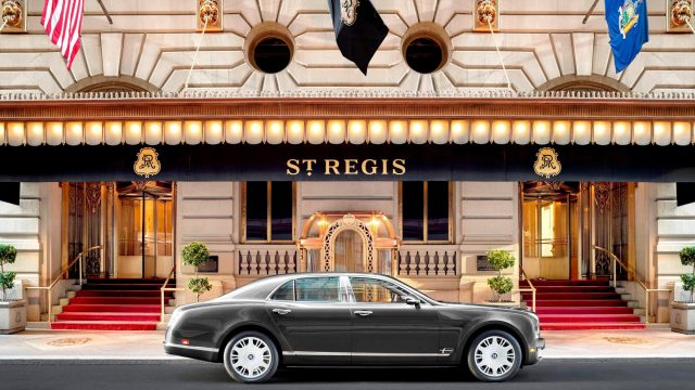 The St. Regis New York Luxury Hotel - New York, NY, USA