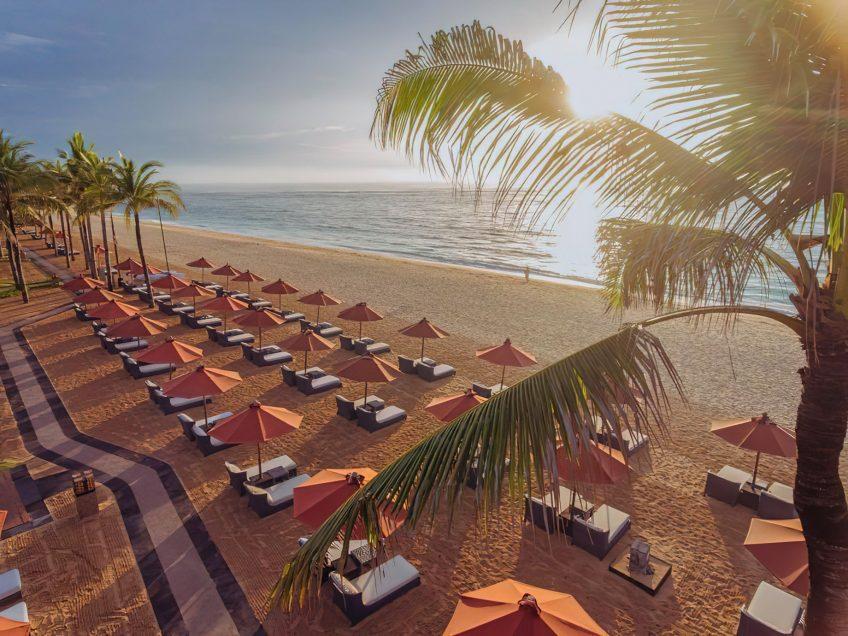 The St. Regis Bali Luxury Resort - Bali, Indonesia - Private Beach Sunset