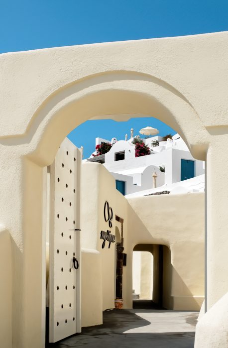 Mystique Luxury Hotel Santorini – Oia, Santorini Island, Greece - Entrance Door