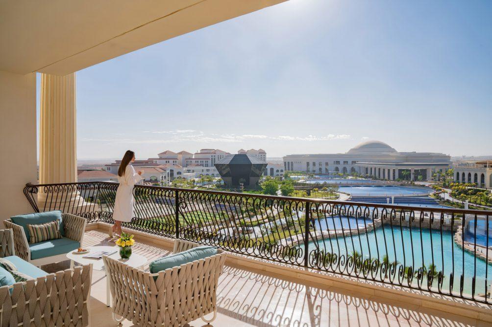 The St. Regis Almasa Luxury Hotel - Cairo, Egypt - Hotel Exterior View