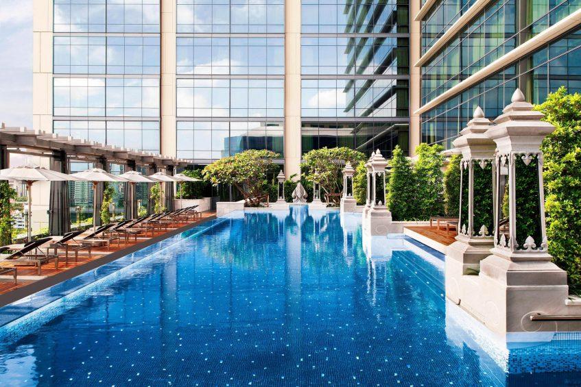 The St. Regis Bangkok Luxury Hotel - Bangkok, Thailand - Outdoor Pool Deck