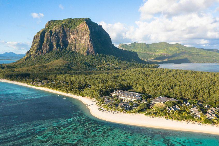 The St. Regis Mauritius Luxury Resort - Mauritius - Resort Aerial View