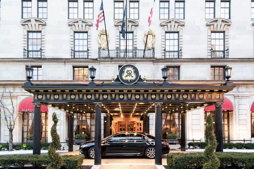 The St. Regis Washington D.C. Luxury Hotel - Washington, DC, USA - Exterior Front Entrance