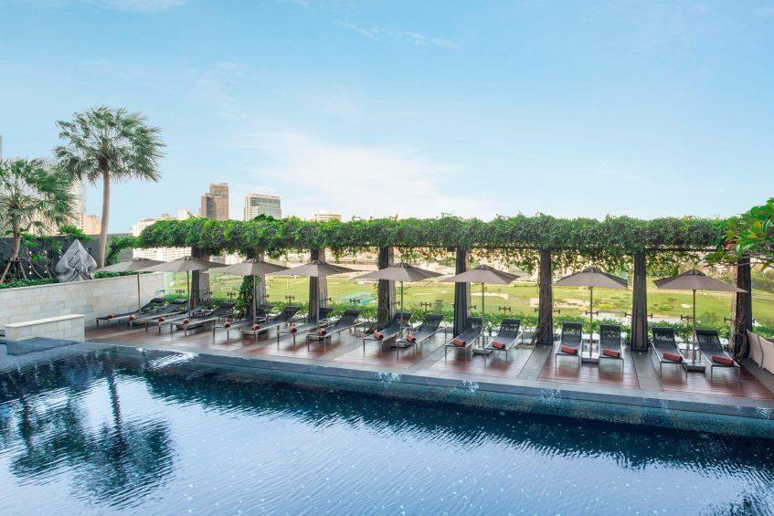 The St. Regis Bangkok Luxury Hotel - Bangkok, Thailand - Outdoor Pool Deck View