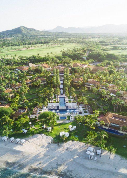 The St. Regis Punta Mita Luxury Resort - Nayarit, Mexico - Resort Aerial