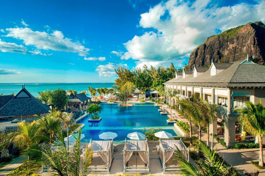 The St. Regis Mauritius Luxury Resort - Mauritius - Aerial View Manor House