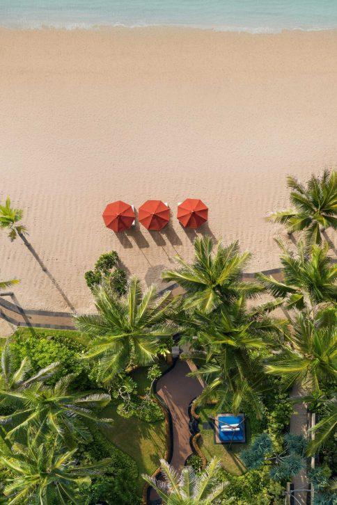 The St. Regis Bali Luxury Resort - Bali, Indonesia - Strand Residence Guest Room Birds Eye View