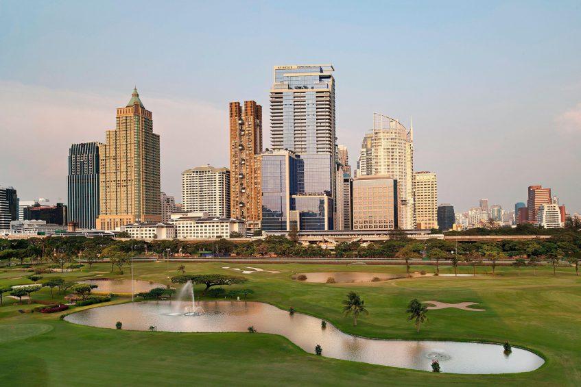 The St. Regis Bangkok Luxury Hotel - Bangkok, Thailand - Hotel Tower View