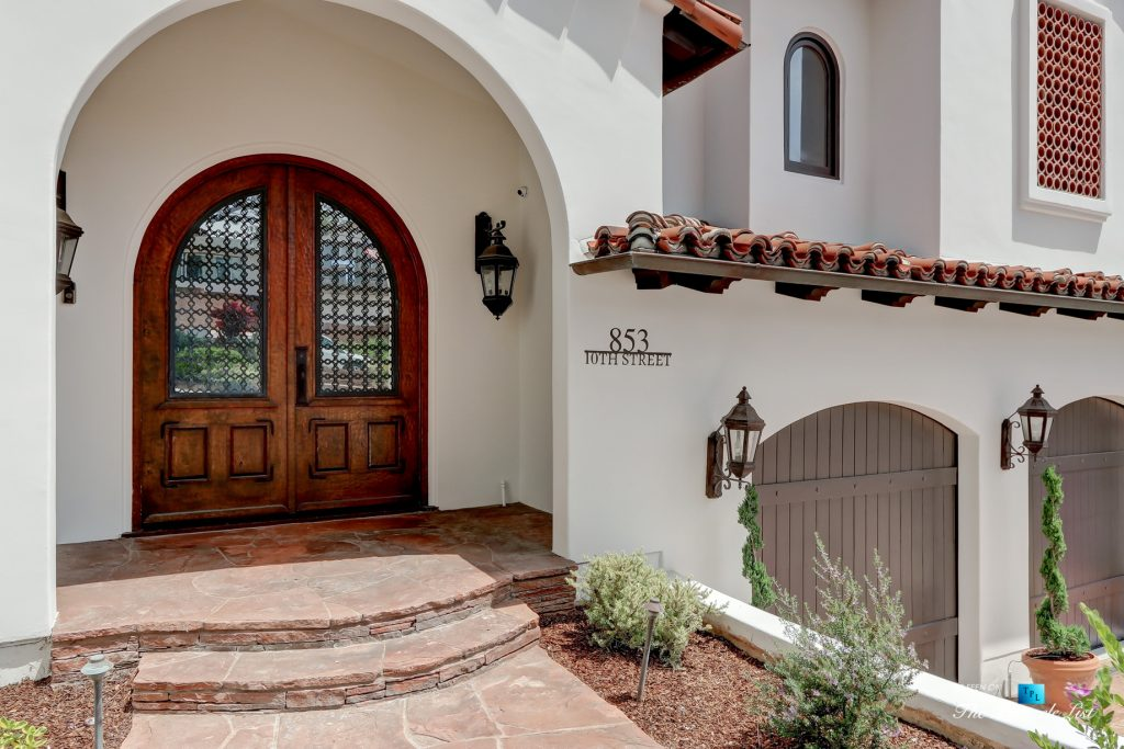 853 10th Street, Manhattan Beach, CA, USA - Exterior Front Door