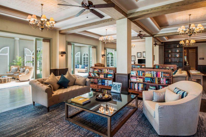 The St. Regis Mauritius Luxury Resort - Mauritius - The Library