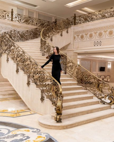 The St. Regis Almasa Luxury Hotel - Cairo, Egypt - Hotel Interior Stairs