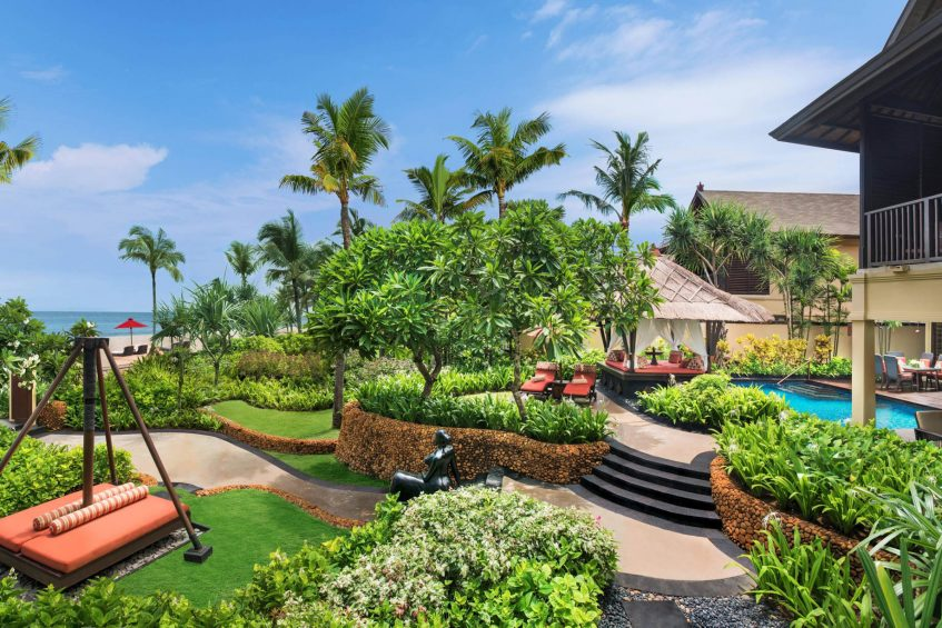 The St. Regis Bali Luxury Resort - Bali, Indonesia - Strand Residence Guest Room Private Garden