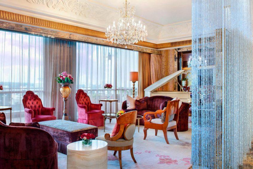The St. Regis Singapore Luxury Hotel - Singapore - Presidential Suite Living Area