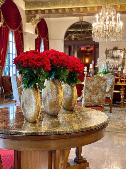 The St. Regis Washington D.C. Luxury Hotel - Washington, DC, USA - Lobby Decor