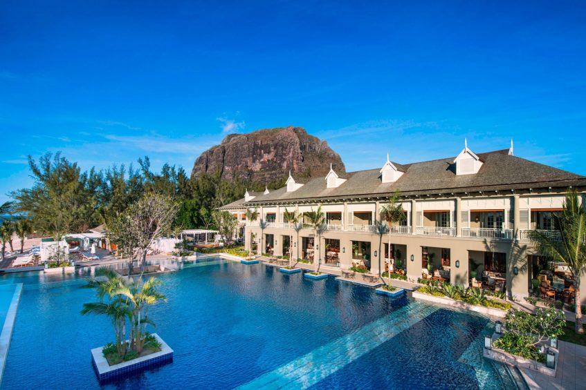 The St. Regis Mauritius Luxury Resort - Mauritius - Manor House and Main Pool