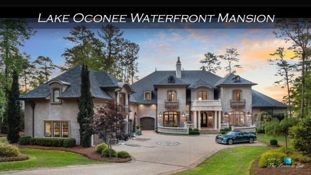 Lake Oconee Waterfront Mansion - 1200 Parrotts Cove Rd, Greensboro, GA, USA