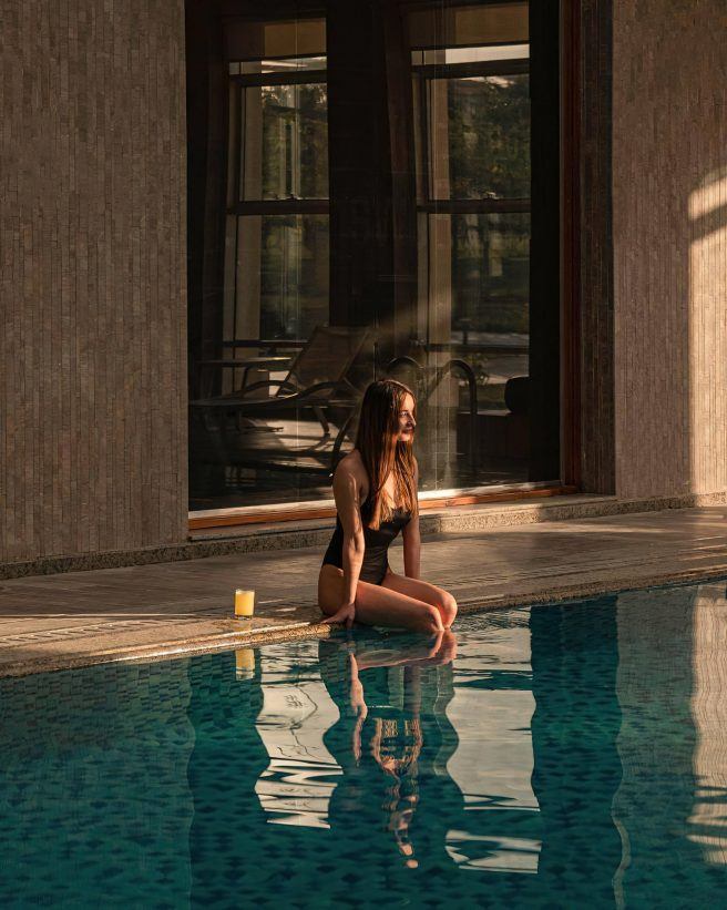 The St. Regis Almasa Luxury Hotel - Cairo, Egypt - Hotel Interior Spa Pool