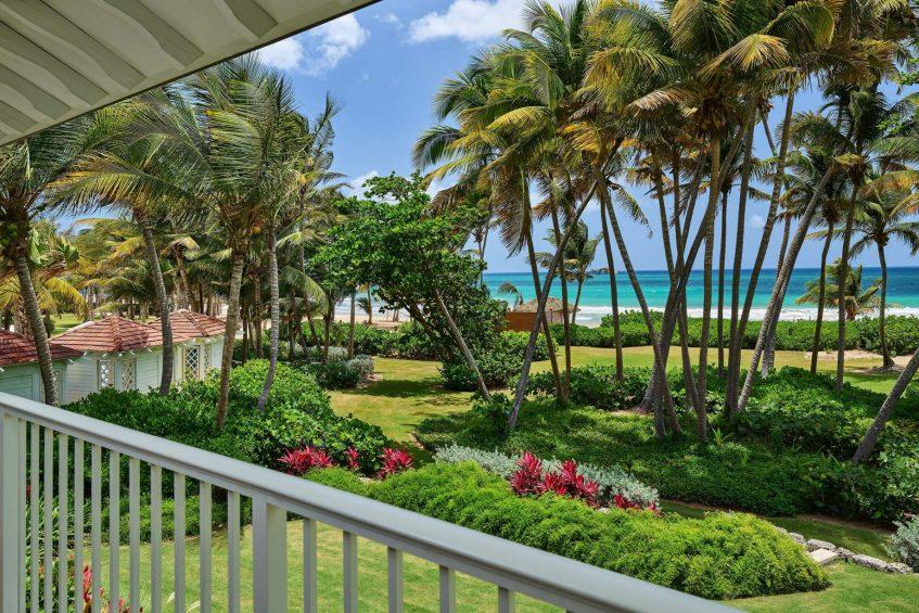The St. Regis Bahia Beach Luxury Resort - Rio Grande, Puerto Rico - Ocean Front Guest Room Balcony