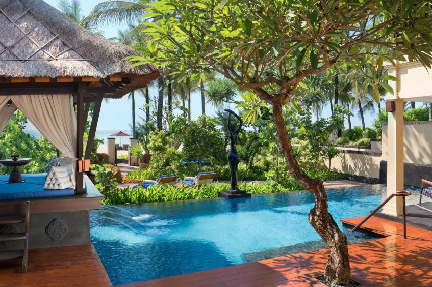 The St. Regis Bali Luxury Resort - Bali, Indonesia - Strand Residence Guest Room Pool and Garden