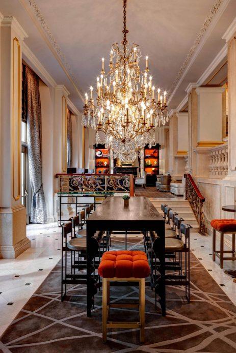 The St. Regis New York Luxury Hotel - New York, NY, USA - Astor Court Communal Table