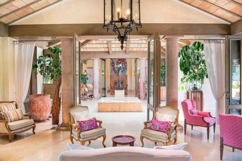 The St. Regis Punta Mita Luxury Resort - Nayarit, Mexico - Altamira Lobby