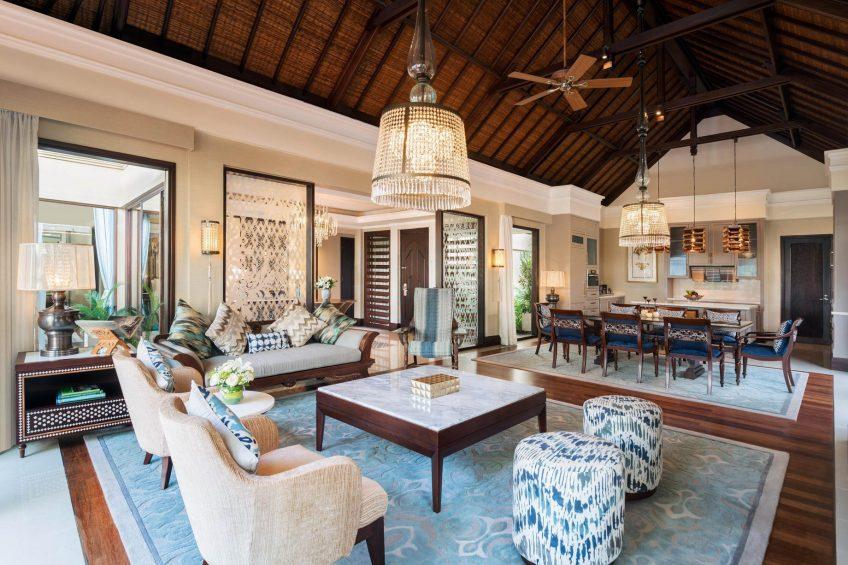 The St. Regis Bali Luxury Resort - Bali, Indonesia - Strand Residence Guest Room Living Room