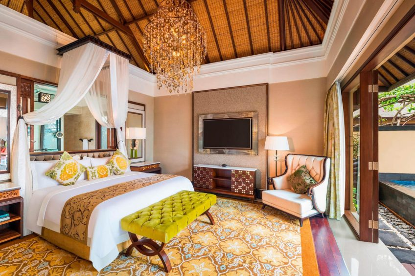 The St. Regis Bali Luxury Resort - Bali, Indonesia - The Strand Villa Guest Bedroom