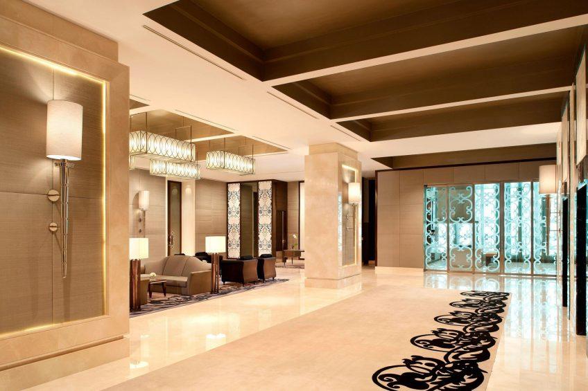 The St. Regis Bangkok Luxury Hotel - Bangkok, Thailand - Astor Level Foyer Pre-Function Area
