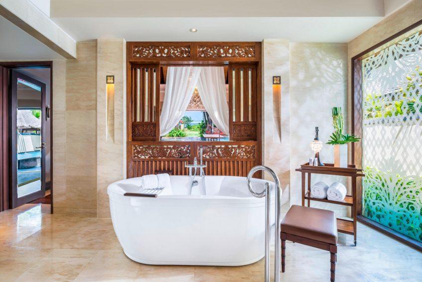 The St. Regis Bali Luxury Resort - Bali, Indonesia - Strand Villa Guest Bathroom