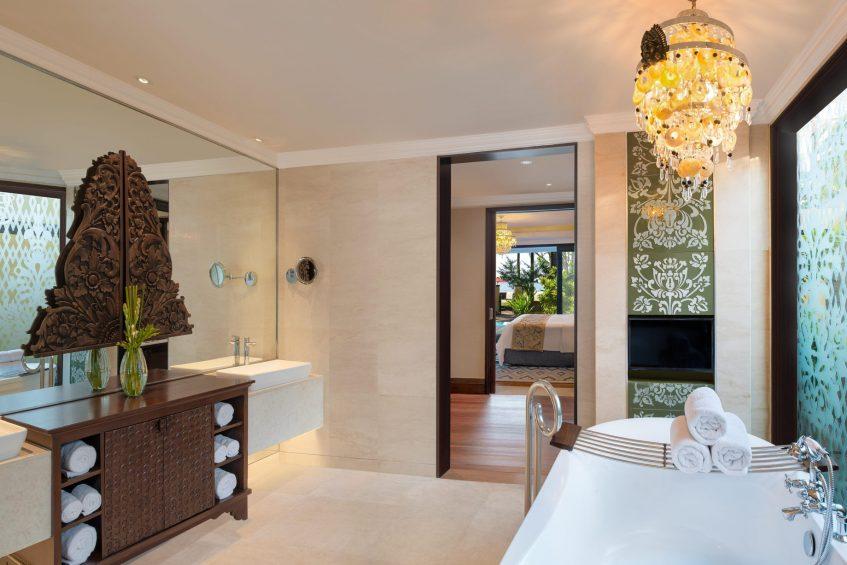The St. Regis Bali Luxury Resort - Bali, Indonesia - Strand Residence Guest Bathroom