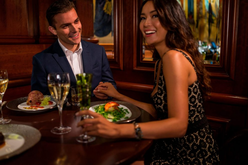 The St. Regis New York Luxury Hotel - New York, NY, USA - Dining at Table 55