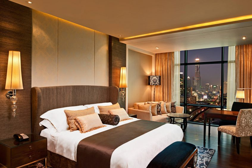 The St. Regis Bangkok Luxury Hotel - Bangkok, Thailand - King Grand Deluxe Guest Room City View
