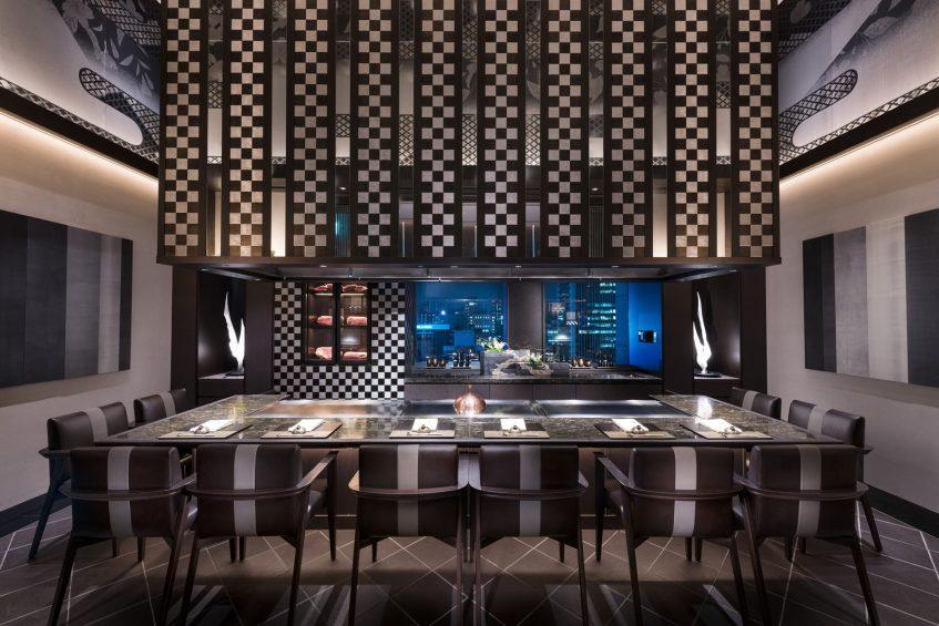 The St. Regis Osaka Luxury Hotel - Osaka, Japan - Teppanyaki Restaurant Wajo