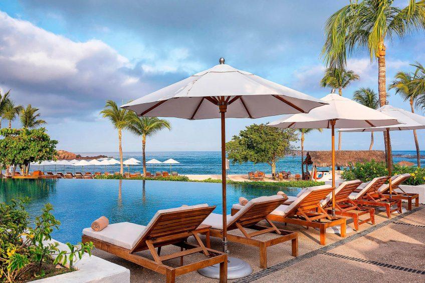 The St. Regis Punta Mita Luxury Resort - Nayarit, Mexico - Sea Breeze Beach Club Pool