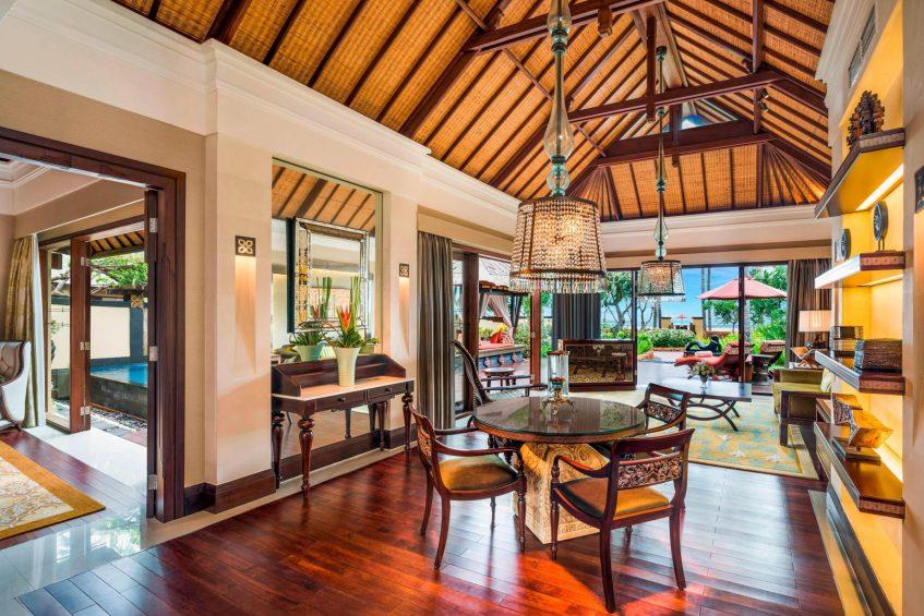 The St. Regis Bali Luxury Resort - Bali, Indonesia - The Strand Villa Living Room