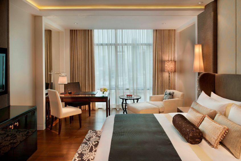 The St. Regis Bangkok Luxury Hotel - Bangkok, Thailand - King Deluxe Guest Room